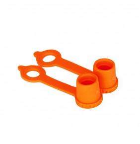 Tapones de Válvula Cappa Dustcaps Naranjas