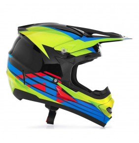 Casco Acerbis Profile Timebomb Black Green