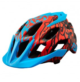 Casco Fox Flux Cauz Blue