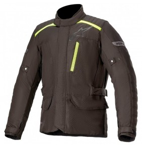 Cazadora Alpinestars Gravity Drystar Jacket Black Yellow Fluo 2021