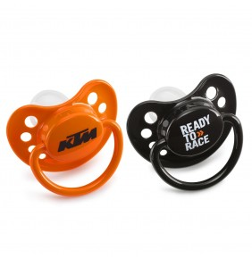 Chupetes KTM Baby Dummy Orange & Black