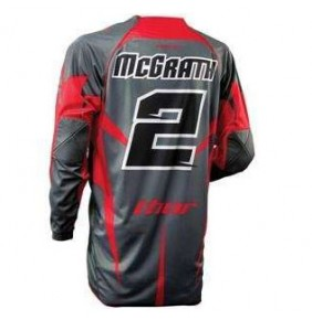 Camiseta Thor Signature Core McGrath Red / Grey