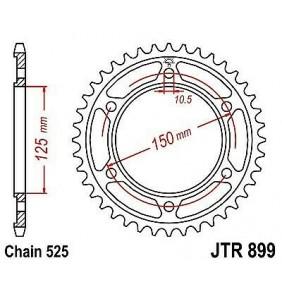 Corona JT 42 Dientes KTM 950-990-1050-1090-1190-1290