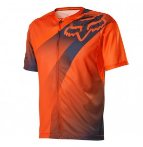 Camiseta Fox Livewire Descent Fluo Orange