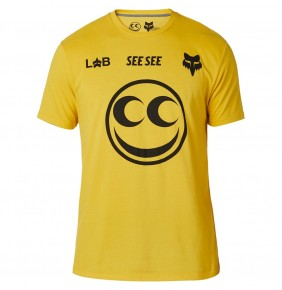 Camiseta Fox & SEE SEE Airline Yellow Limited Edition