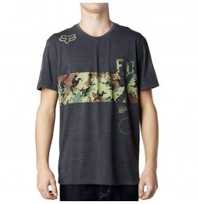 Camiseta Fox Reverse Logic Heather Black