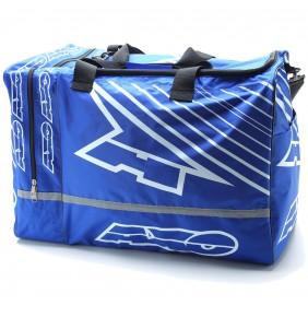 Bolsa Axo Weekender Gear Bag Blue White