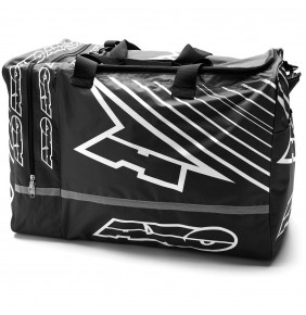 Bolsa Axo Weekender Gear Bag Black White
