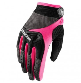 Guantes Chica THOR Spectrum Women´s Black / Pink