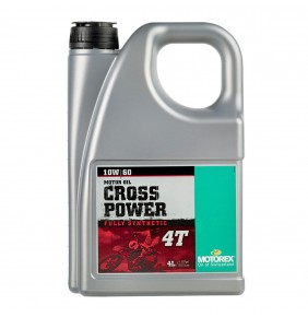 Aceite Motorex Cross Power 4T 10W/60 4L