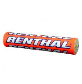 Protector De Manillar Renthal SX 240 mm Naranja Fluo / Azul