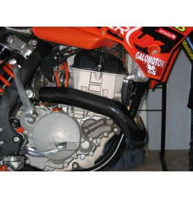 Protector Colector Carbono Racing KTM 250 EXC-F 14-16 / Husqvarna FE 250 14-16
