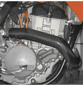 Protector Colector Carbono Racing KTM 250 EXC-F 07-13 / Husaberg FE 250 13-16