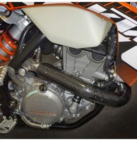 Protector Colector Carbono Racing KTM 350 EXC-F 12-16 / Husaberg FE350 13-16