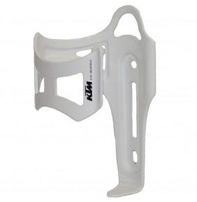 Portabidón KTM Side Alloy White Glossy