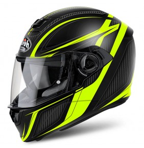 Casco Airoh Storm Sharpen Yellow Matt