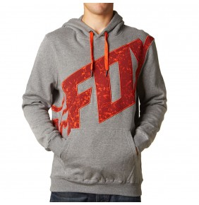 Sudadera Fox Hangerman Pullover Fleece Heather Graphite