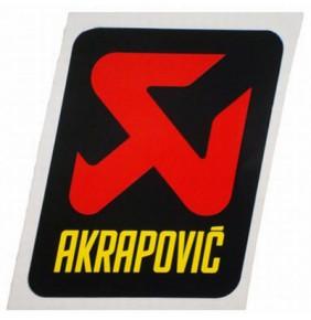 Adhesivo Silencioso Akrapovic Resistente al Calor (75x95mm)