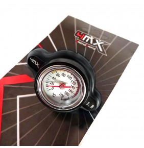 Tapón de Radiador con Indicador Temperatura Negro (1.8 BAR) KTM SX-EXC 2017-2020 y Japonesas