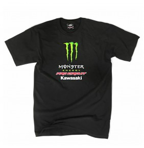 Camiseta Monster Pro Circuit Team Tee Black