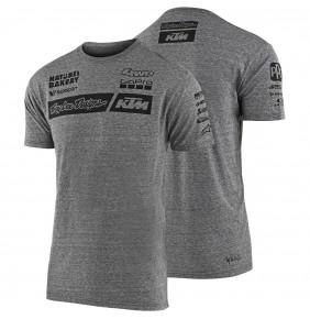 Camiseta KTM Troy Lee Designs Team Grey 2020