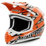 Casco Acerbis 035 Fiber Atomik Orange
