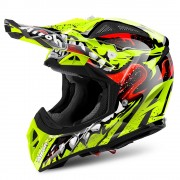 Casco Airoh Aviator 2.2 Grim Yellow Gloss