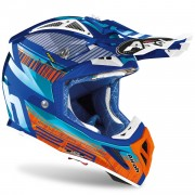Casco Airoh Aviator 2.3 AMS² Novak Chrome Azure 2020