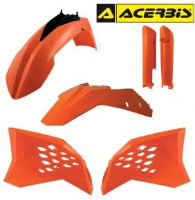 Full Kit de Plásticos Acerbis KTM EXC 2008-2011 Naranja