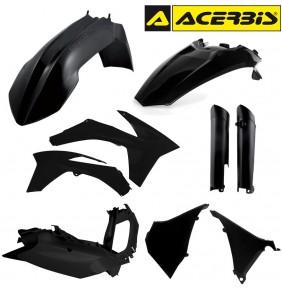 Full Kit de Plásticos Acerbis KTM EXC 2012-2013 Negro