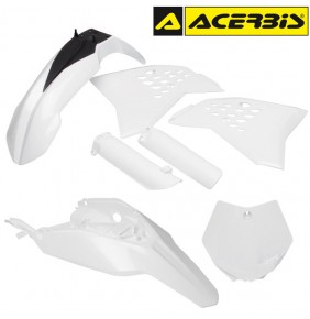 Full Kit de Plásticos Acerbis KTM 65 SX 2009-2011 Blanco