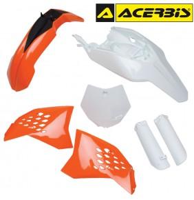 Full Kit de Plásticos Acerbis KTM 65 SX 2009-2011 Réplica