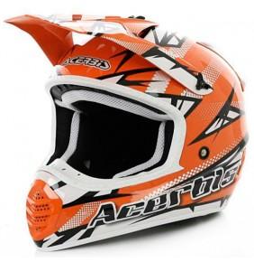 Casco Acerbis 035 Fiber Atomik Orange