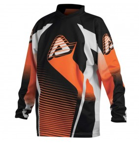 Camiseta Niño Acerbis Impact Junior Orange