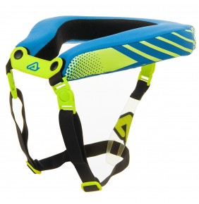 Collarín Cervical Acerbis 2.0 Adulto Fluo Yellow / Blue