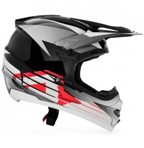 Casco Acerbis Profile Black White Red