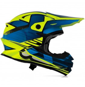 Casco Acerbis X Pro Kraken Blue / Yellow