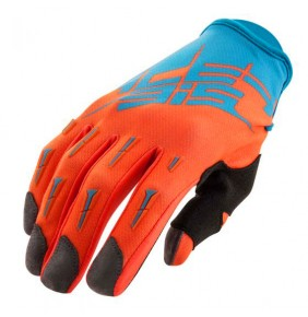 Guantes Acerbis MX X2 Blue / Fluo Orange