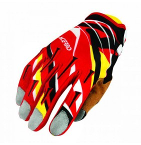 Guantes Acerbis MX X2 Red / Yellow