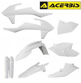 Full Kit de Plásticos Acerbis KTM EXC / EXC-F 2017-2018 Blanco