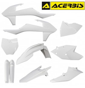 Full Kit de Plásticos Acerbis KTM SX / SXF 2016-2018 Blanco