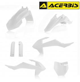 Full Kit de Plásticos Acerbis KTM 65 SX 2016-2017 Blanco