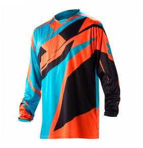 Camiseta Acerbis Profile Orange / Blue