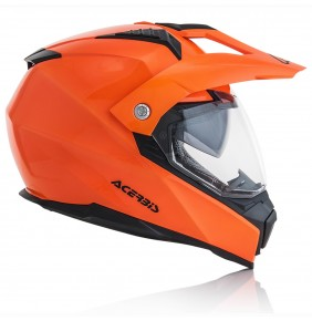 Casco Acerbis Flip FS-606 Orange Fluo