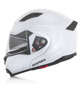 Casco Modular Acerbis BOX G-348 White 2017