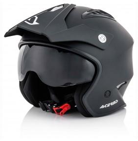 Casco Acerbis Jet Aria Black Matt