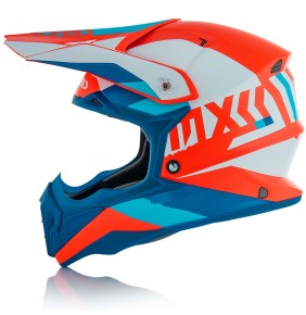 Casco Acerbis Impact 3.0 White / Blue / Orange