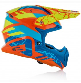 Casco Acerbis Impact 3.0 Orange Fluo / Blue
