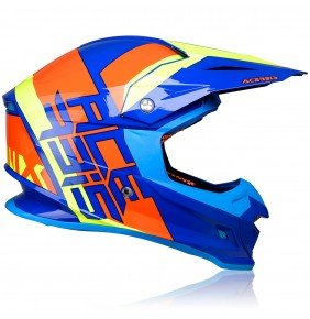 Casco Acerbis Profile 4.0 Fluo Orange / Fluo Yellow