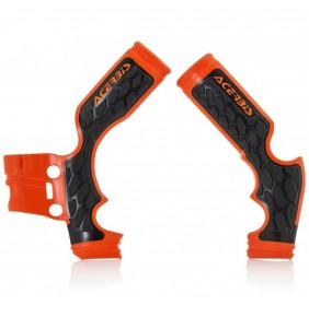 Protectores de Chasis Acerbis X-Grip KTM 65 SX 2014-2020 Naranjas
